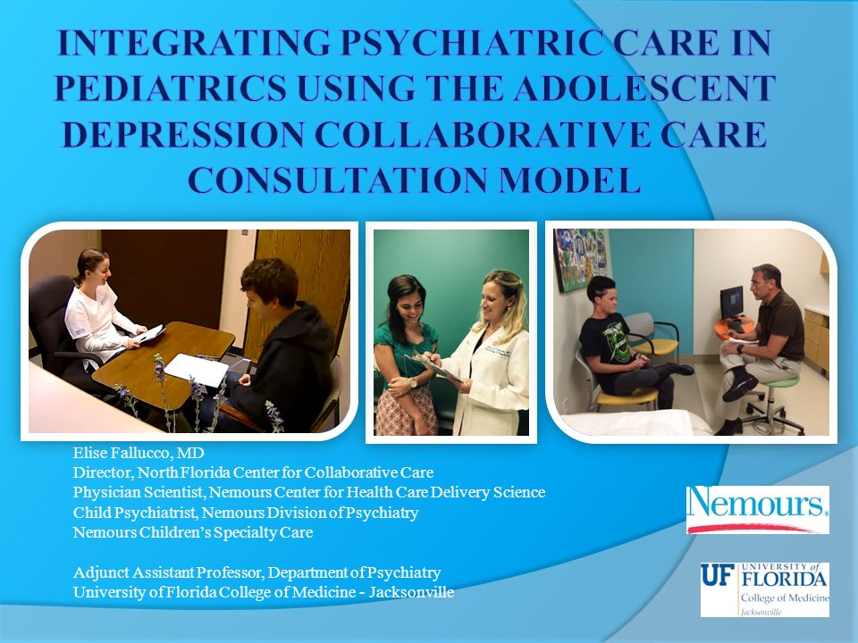 Child Psychiatry Nemours Childrens Health System >> Elise Fallucco Md Director North Florida Center For Collaborative