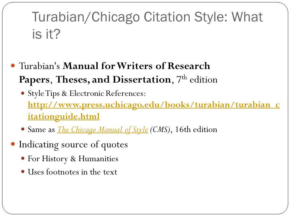free turabian citation