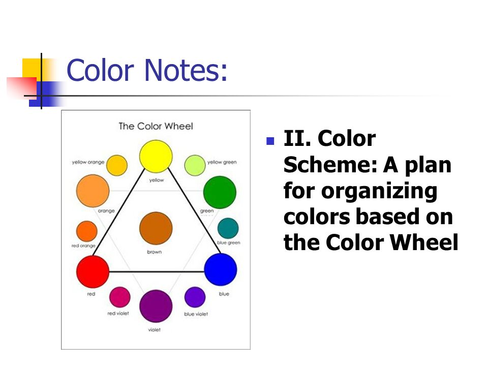 Color Notes An Introduction To Color Theory Mrs Love Visual Art