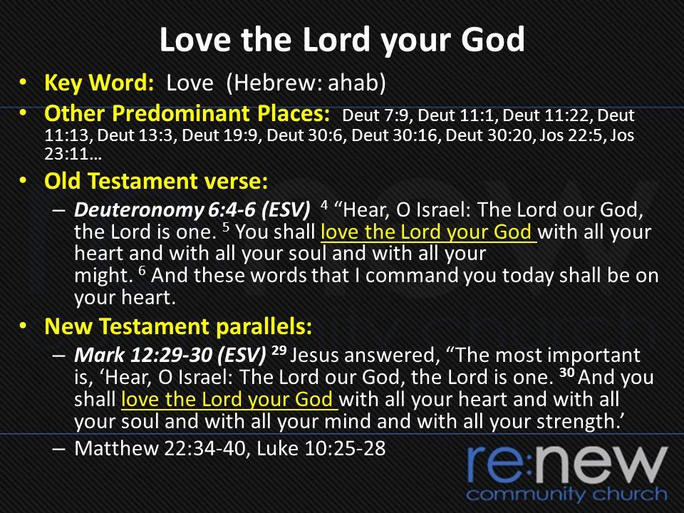 Discover Develop Deploy } All In… Deuteronomy 7:6 (NASB) 6