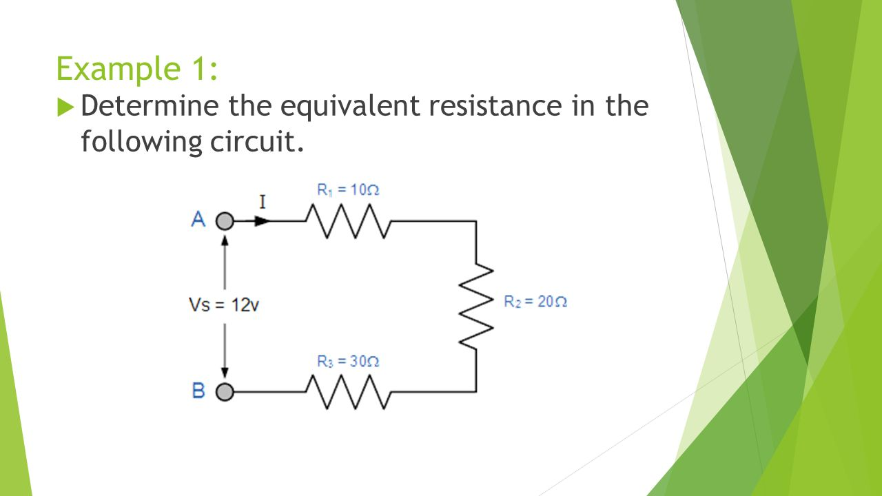 Circuit Electricity Builder Interactive Equivalent Resistance Examples 13 Example 1 Determine The In Following