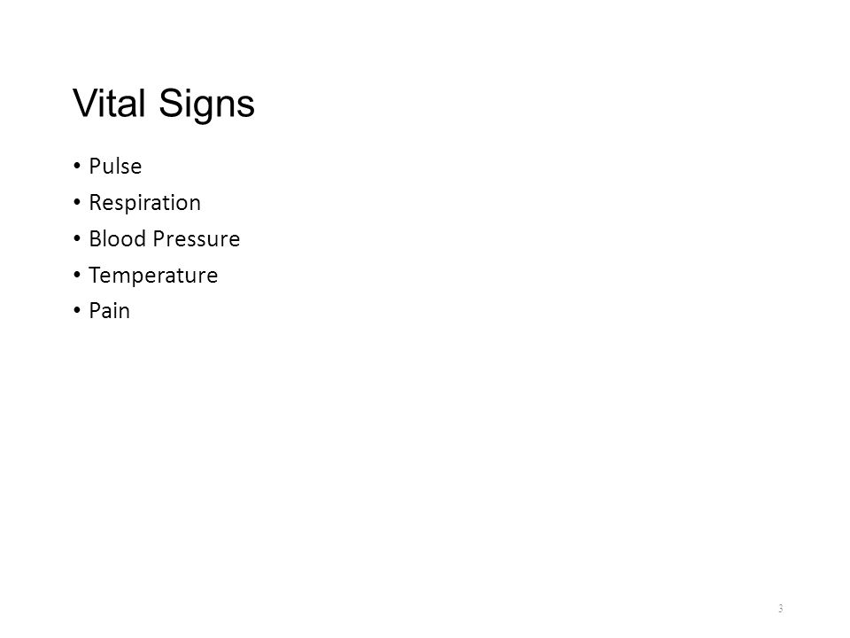 Chapter 6 Vital Signs Assessment Vital Signs Used To Assess The