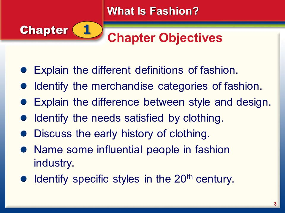 What Is Fashion Back To Table Of Contents What Is Fashion 2 Chapter 1 What Is Fashion Introducing Fashion Fashion History Ppt Download