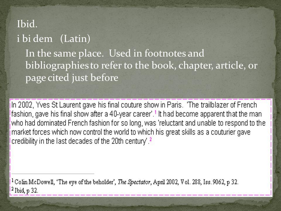 List of Latin phrases I - Wikipedia