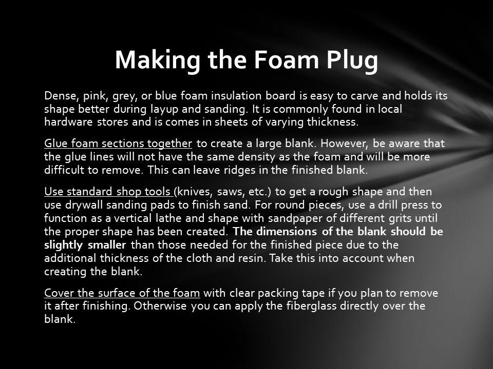 Creating Fiberglass Components Using the Lost-Foam Method