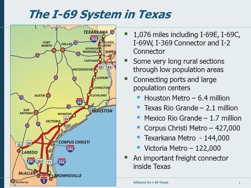 Map Of Interstate 69 In Texas.1 February 2014 Building Interstate 69 As A Series Of Upgrade
