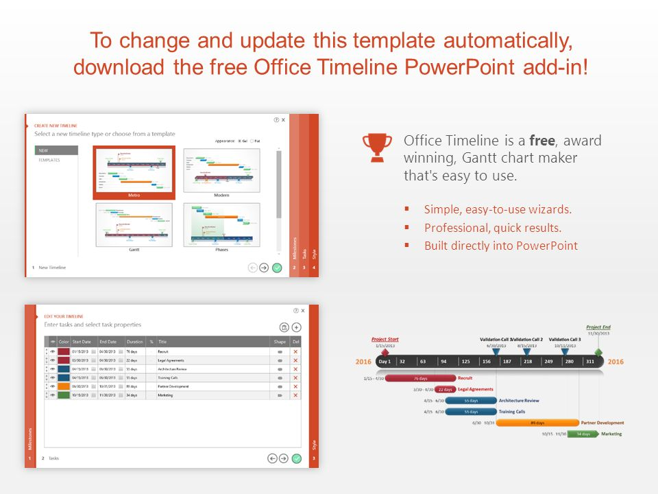 office timeline powerpoint add in