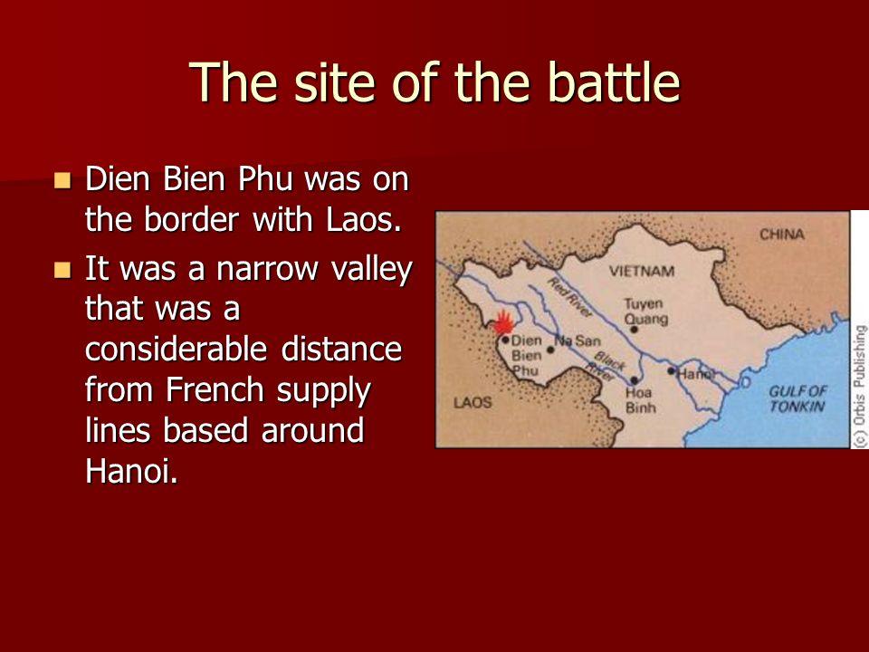 Dien Bien Phu Vietnam Map.Disaster At Dien Bien Phu The End Of French Rule In Vietnam Ppt