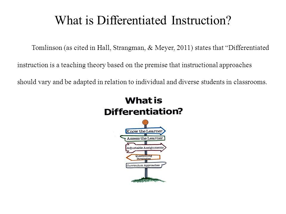 Udl Differentiation Sheryle Y Perkins Edu 673 Instructional