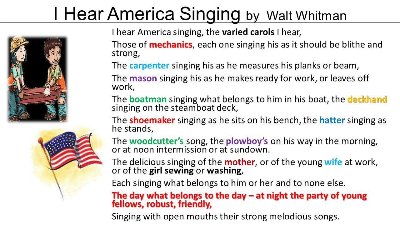 i too sing america analysis essay