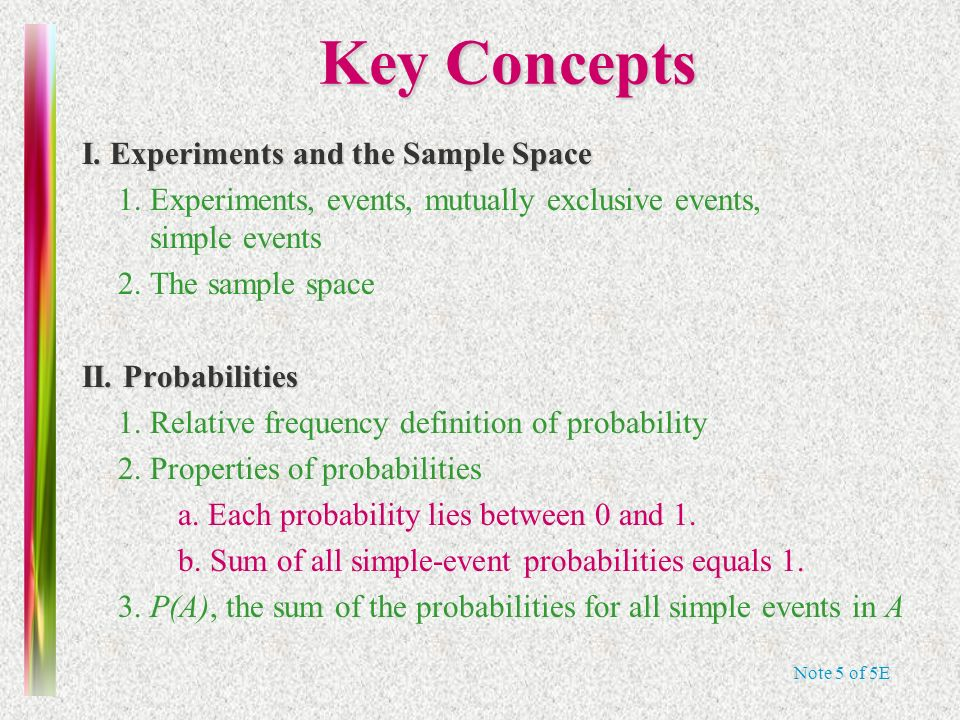5e note 4 honors statistics chapter 5 probability ppt download 87 note stopboris Choice Image