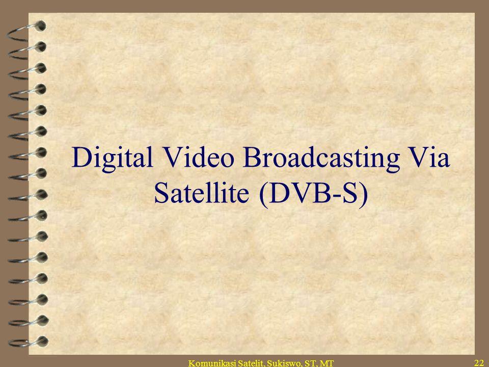 Komunikasi satelit.