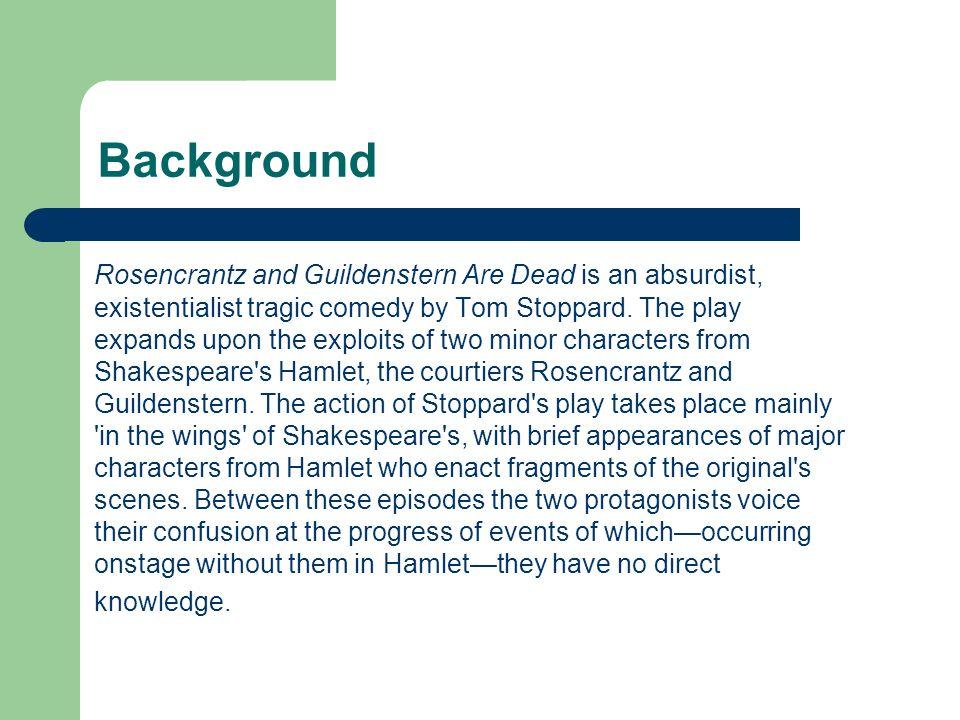 rosencrantz and guildenstern are dead summary