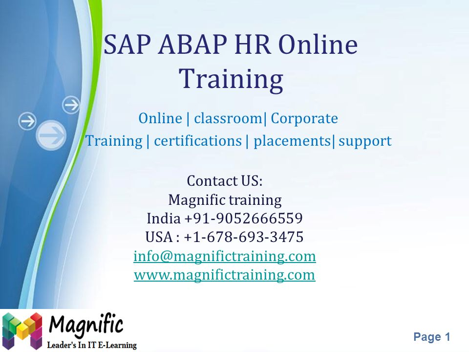 powerpoint templates page 1 sap abap hr online training online