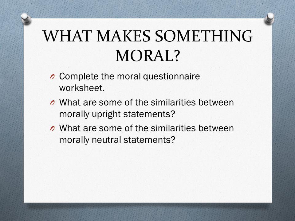 similarities between morals and ethics