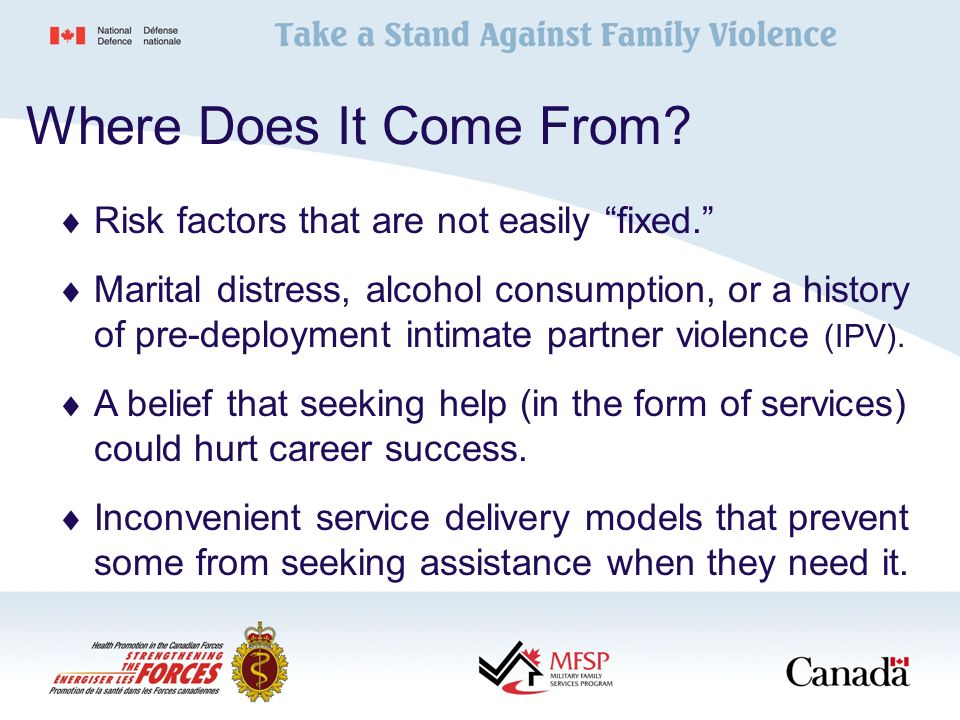 CF Family Violence Prevention and Awareness Campaign