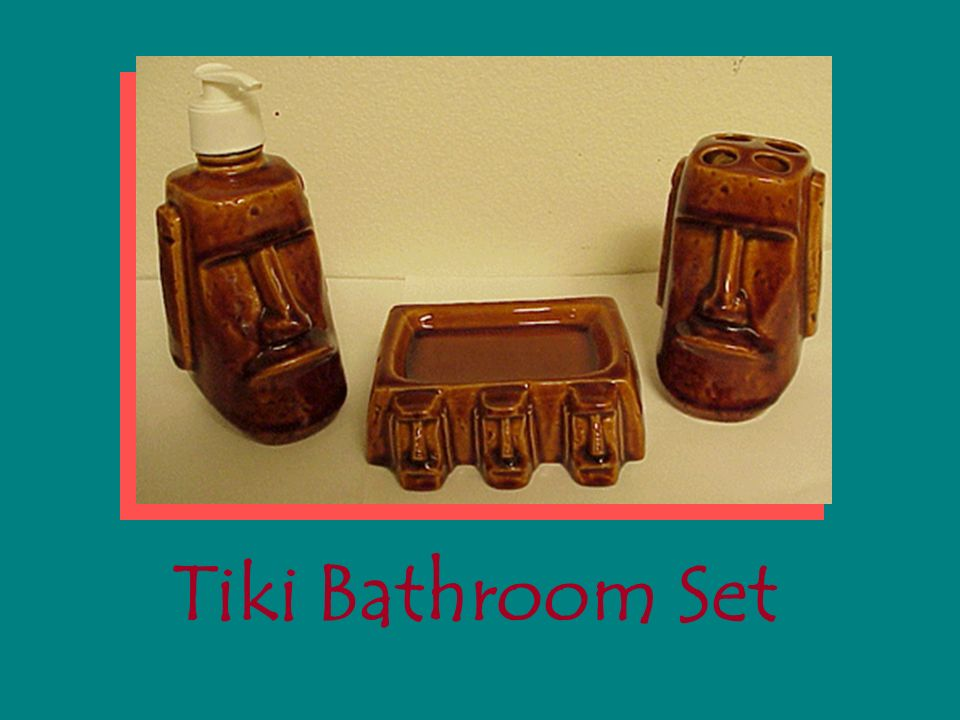 Genial 14 Tiki Bathroom Set