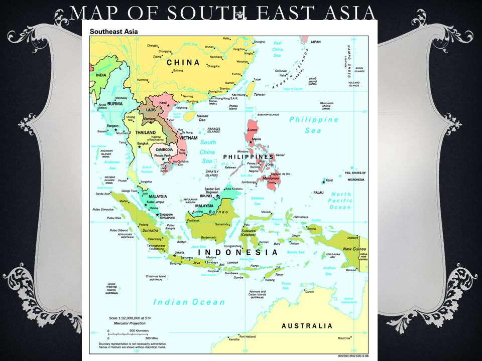 7.4 NOTES – SOUTHEAST ASIA. MAP OF SOUTH EAST ASIA. - ppt download