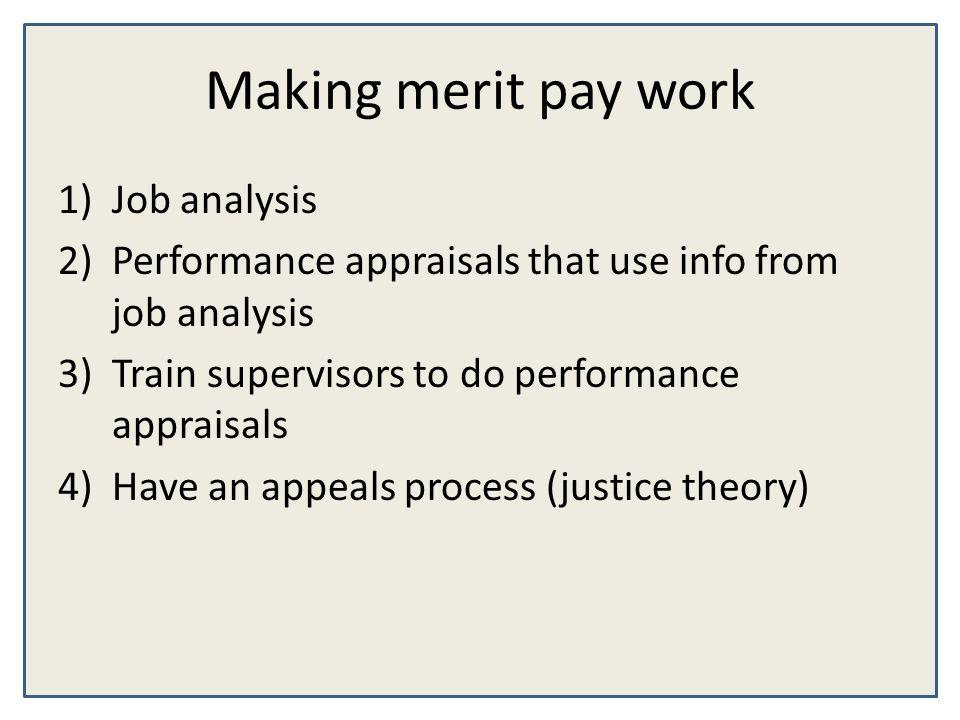 job analysis theory