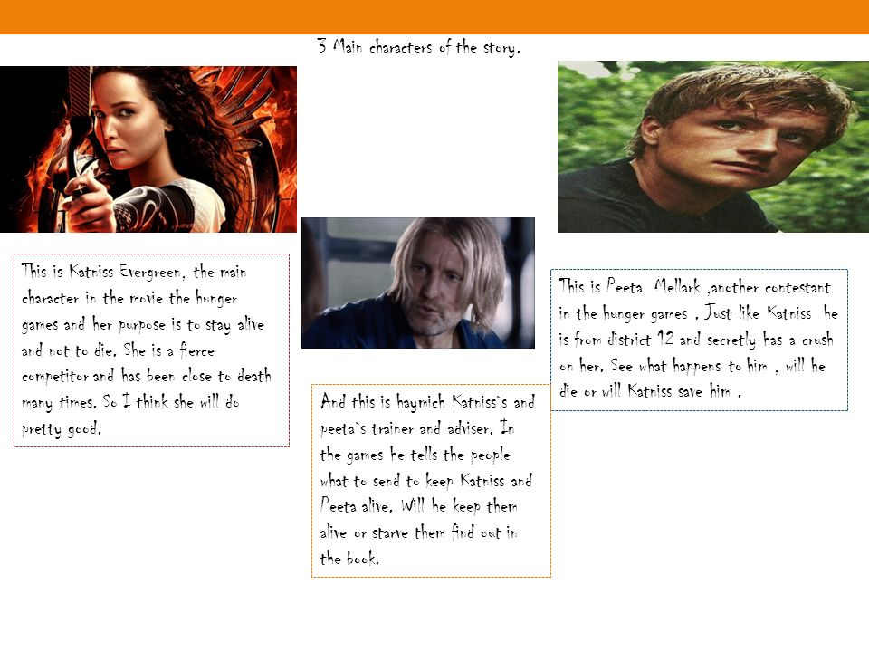 purpose of the hunger games