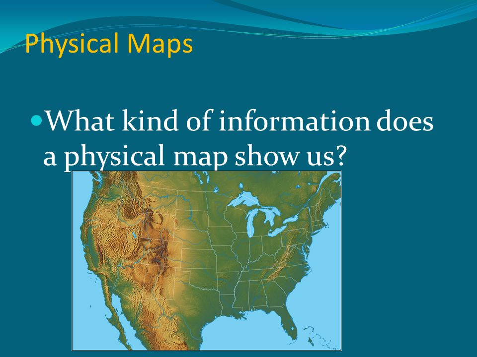 What Does A Physical Map Show SOL Coach: Geography Review p p Unit Review p ppt download