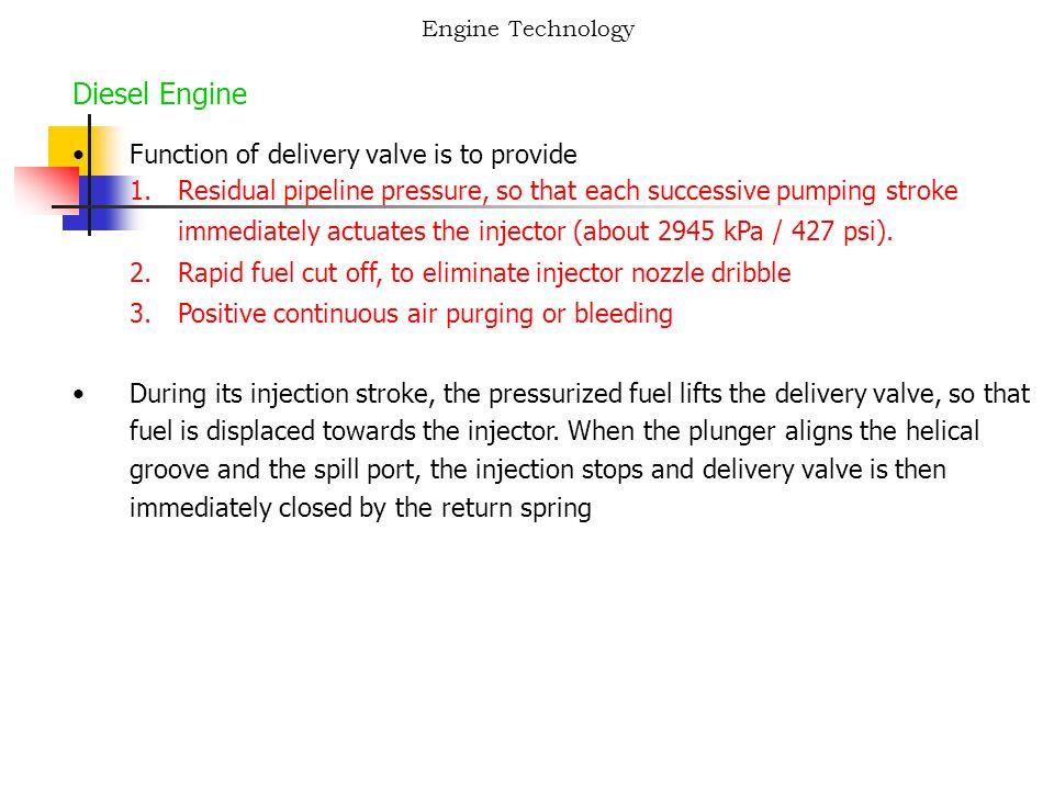 Engine Technology Diesel Engine Diesel Fuel Diesel fuel