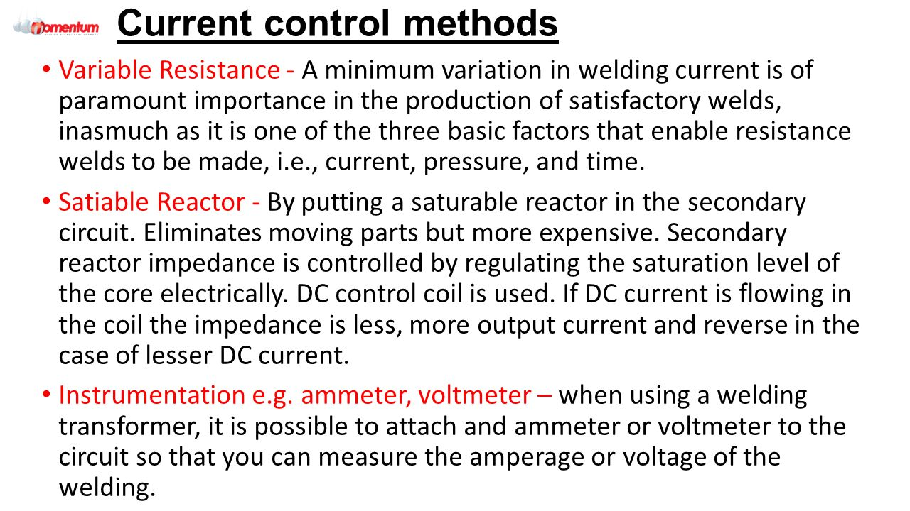 Qeta 020 Tungsten Inert Gas Tig Welding 501 1130 9 Eal Level 3 Arc Transformer Power Controller Circuit Current Control Methods Variable Resistance A Minimum Variation In Is Of Paramount Importance