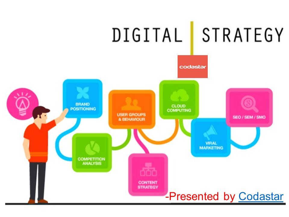 presented by codastarcodastar digital marketing strategy ppt