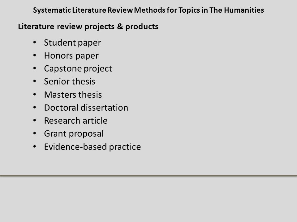 literature dissertation proposal The purpose of writing a dissertation proposal is to provide an outline to the research topic, literature review, research methodologies and findings that are comprising your entire dissertation your phd dissertation proposal is supposed to be exclusive as it helps you to create definite plan for your final year project.