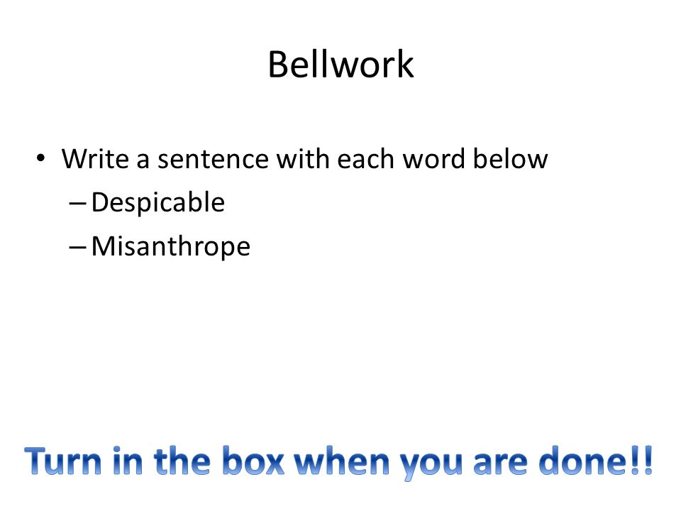 Misanthrope in a sentence