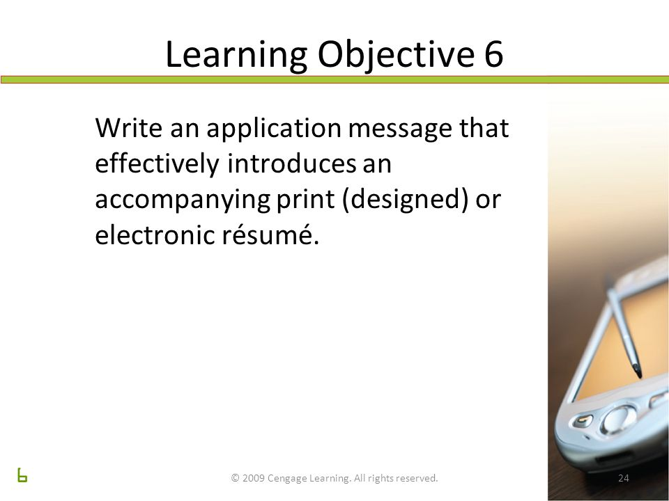 Preparing Resumes And Application Letters Chapter 14 Lecture Slides