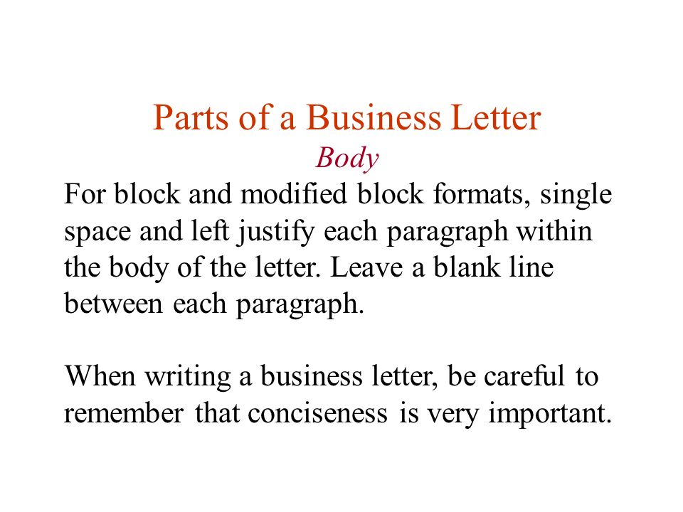 Lesson Eleven Writing Business Letters First Any Questions About