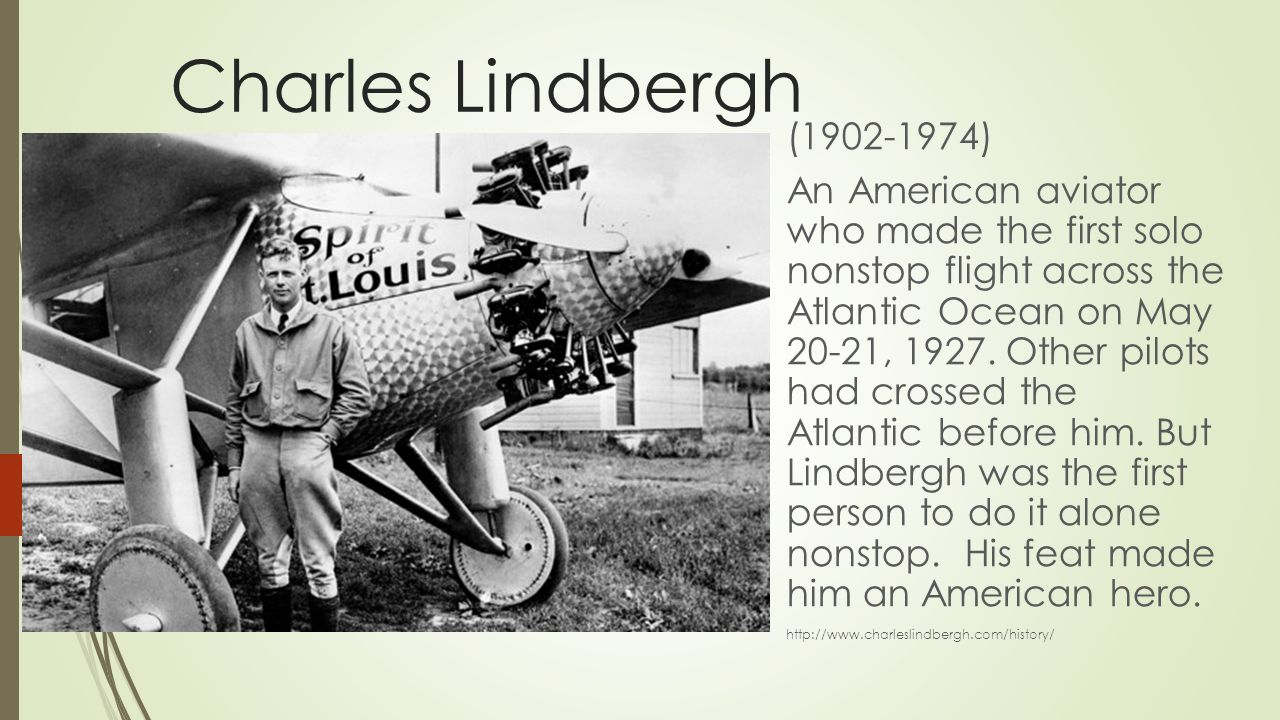 Image result for charles lindbergh in 1974