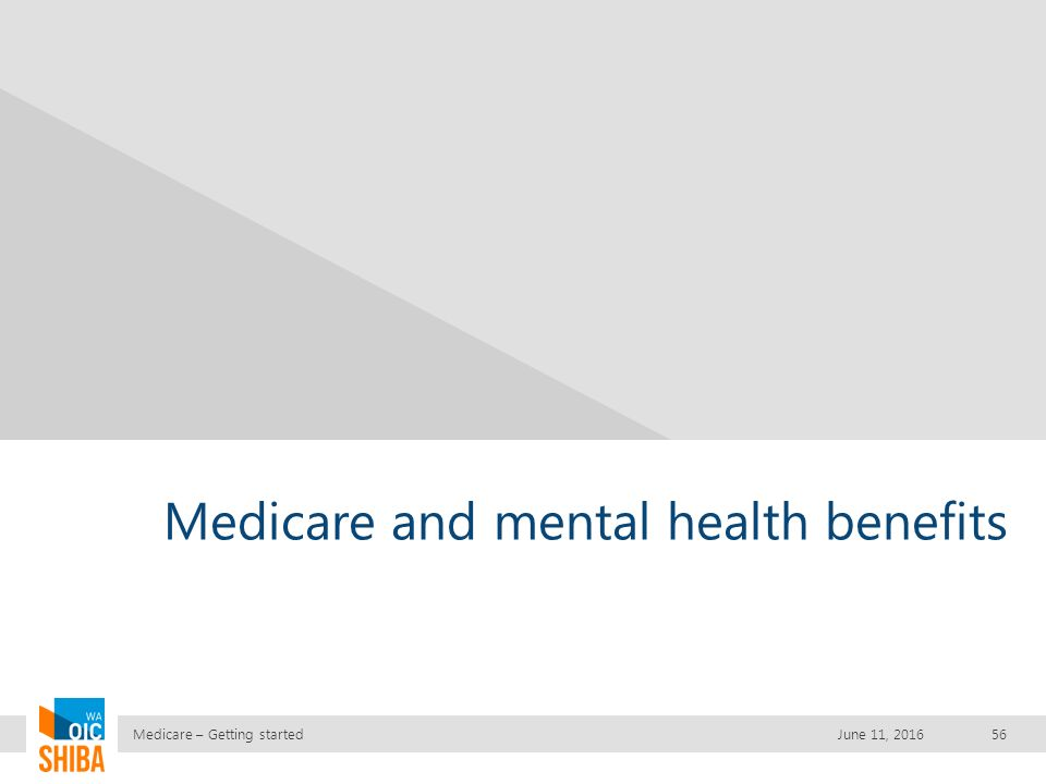 Medicare Getting Started June 11 What Is Shiba Statewide Health