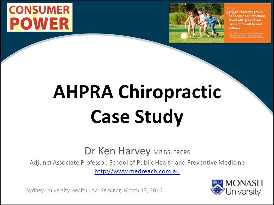 ahpra case study example