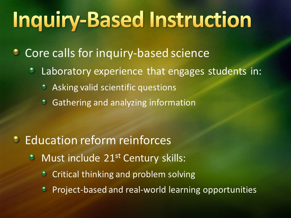 Education Reform Must Include >> Stan Heffner Associate Superintendent Center For Curriculum And