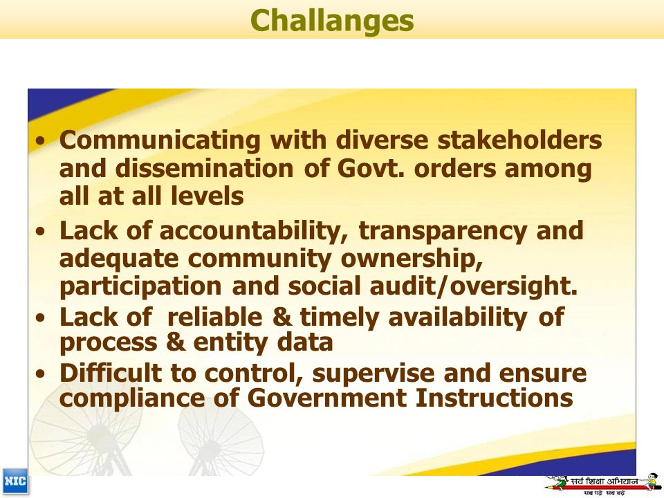Communicating with diverse stakeholders and dissemination of Govt.