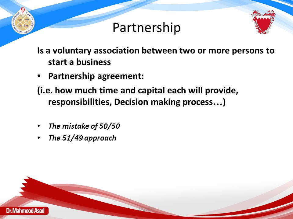 Chapter 3 Forms Of Ownership Small Businesses University