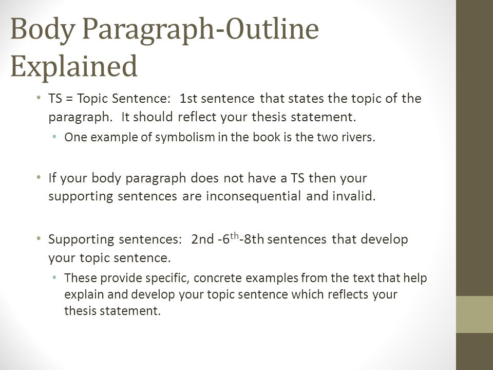 which is the first step in writing a synthesis paragraph