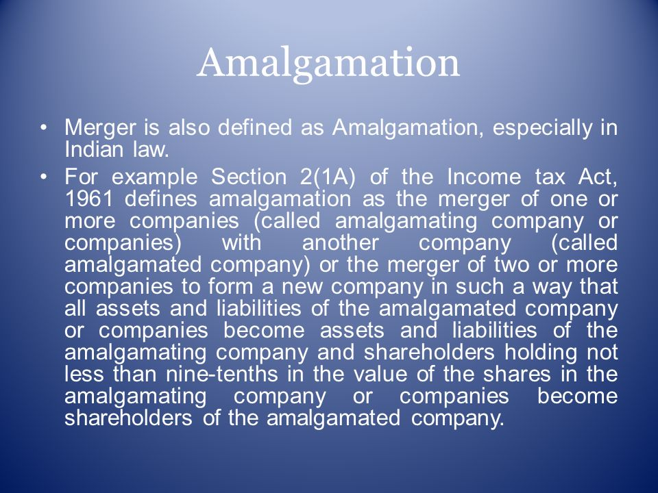 What is the difference between merger, acquisition and.