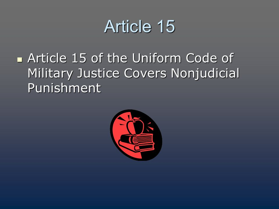 uniform code of military justice dating a minor