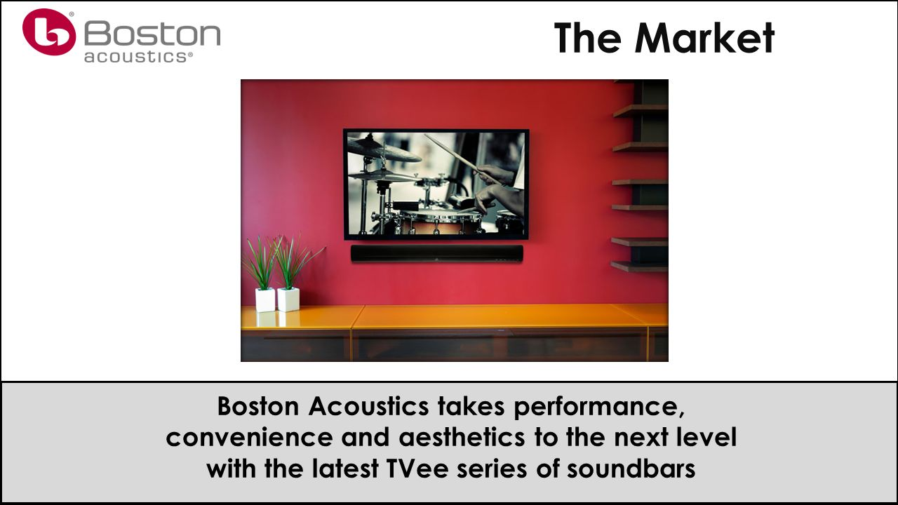 Tvee Soundbars Agenda The Market Models Selling Ppt Download Boston Acoustics 26 8 Takes Performance Convenience And Aesthetics To Next Level With Latest Series Of