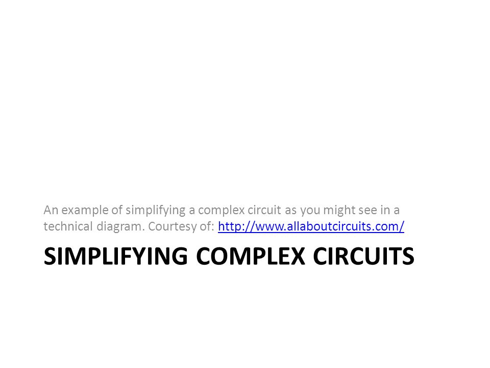 Circuits and Circuit Elements Holt Chapter 18 Series, Parallel and ...