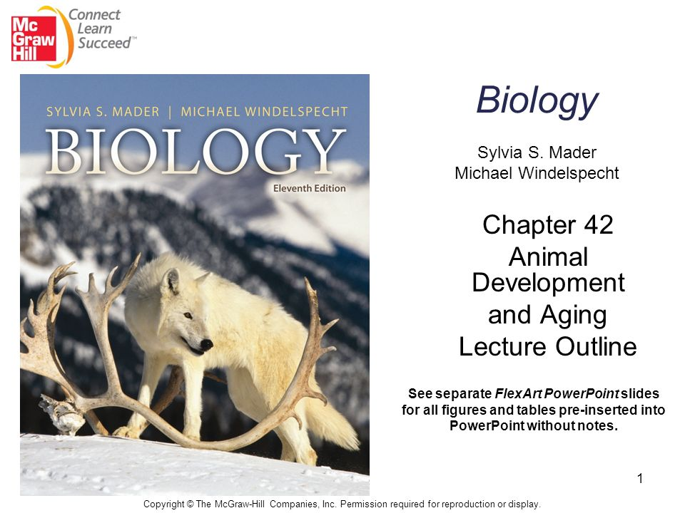 Biology Sylvia S Mader Michael Windelspecht Chapter 42