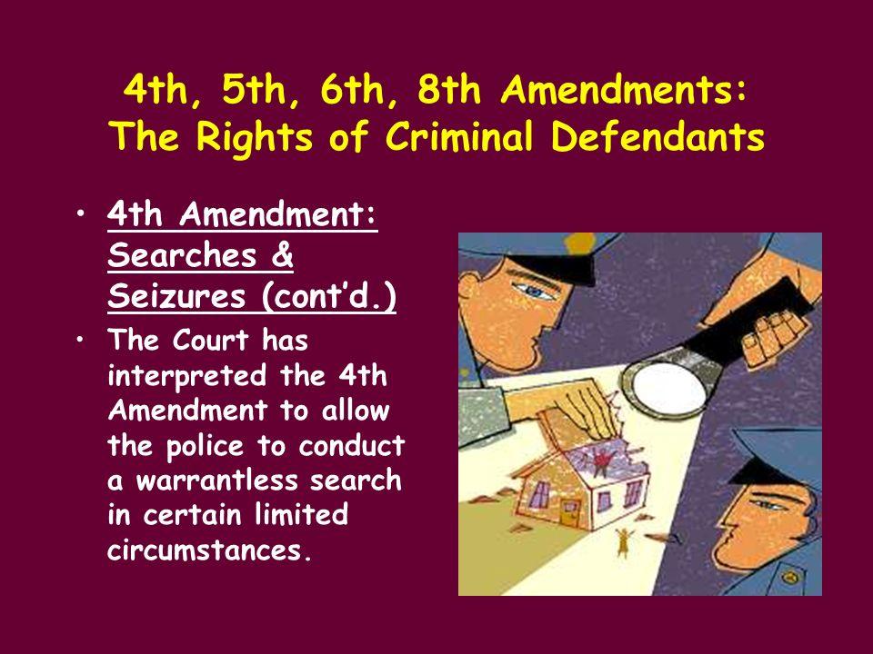 4th 5th 6th amendments