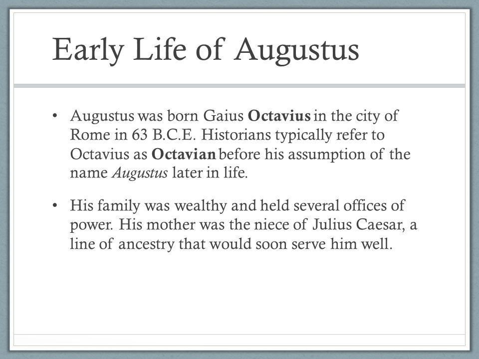 Image result for rome's augustus caesar is born