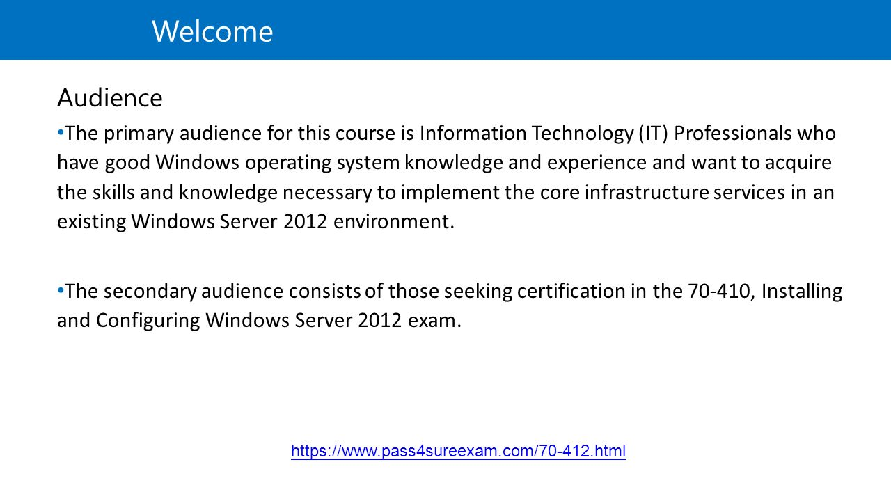 Windows Certification Paths Or Mcsa Windows Server 2012 Installing