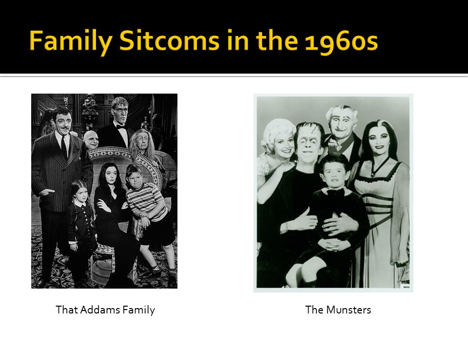 That Addams FamilyThe Munsters