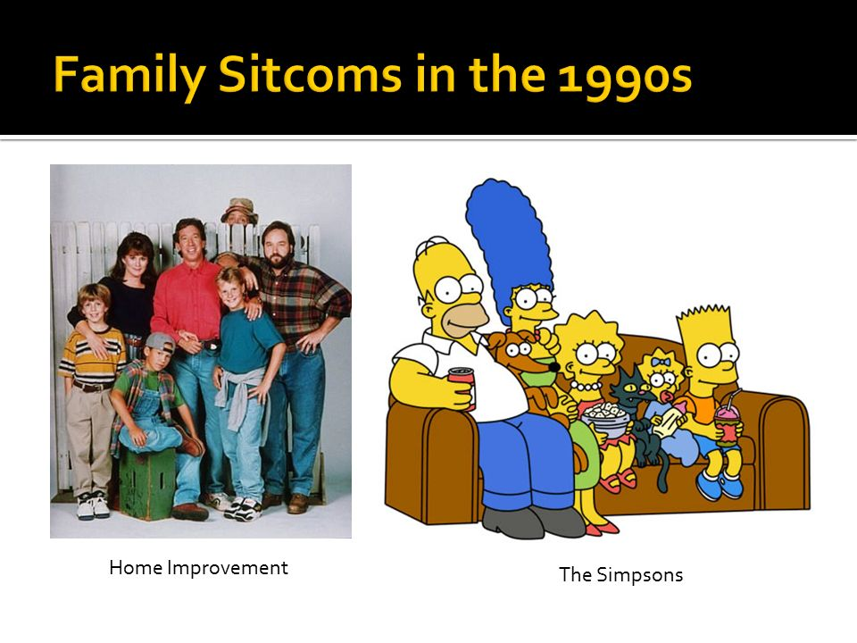 Home Improvement The Simpsons