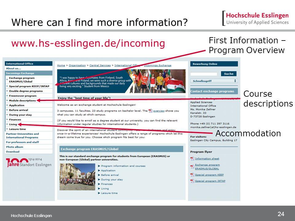 Stellenangebote Hochschule Esslingen